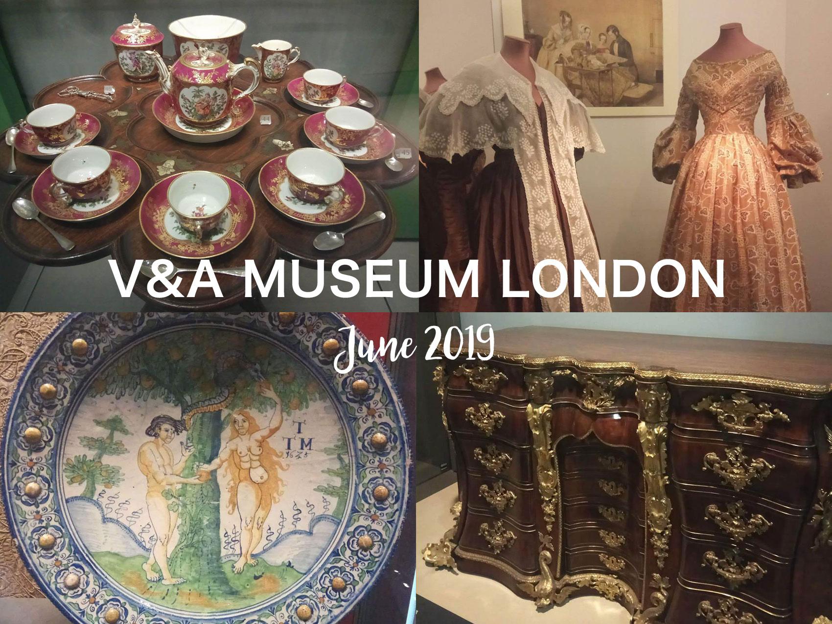 無料で嬉しい!ロンドン「ヴィクトリア・アンド・アルバート博物館」の展示紹介(2019年6月)