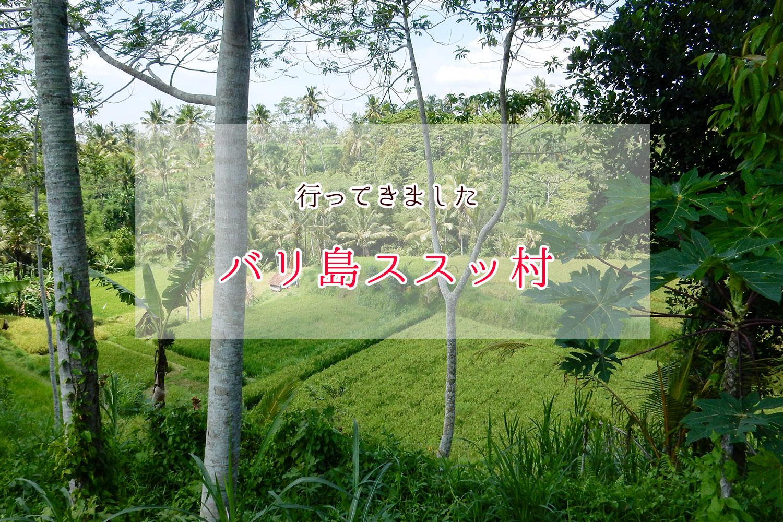 バリ島タバナン県ススット村