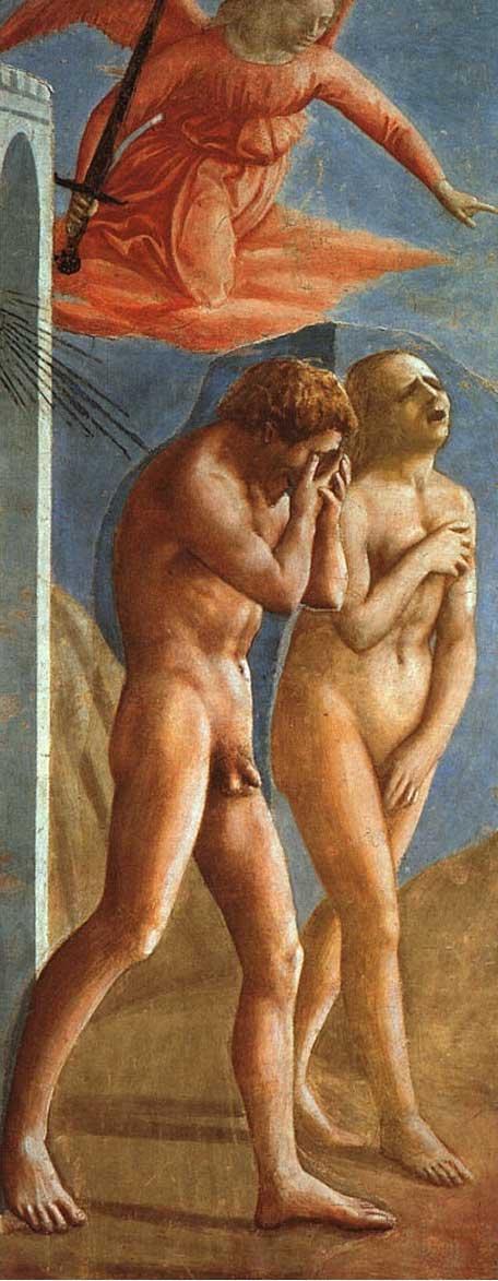 「楽園追放」マザッチオ (Masaccio)