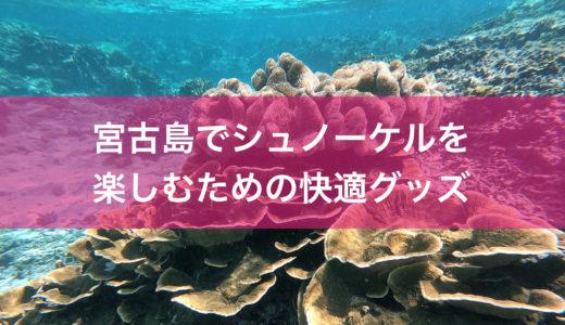 宮古島でシュノーケルを楽しみ倒すための快適グッズ12選