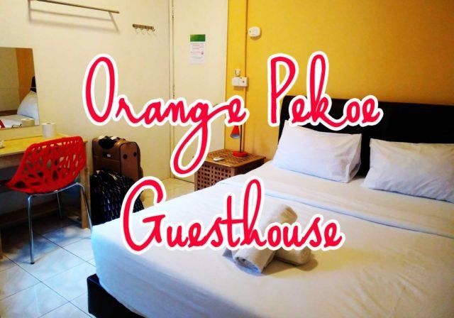 【1泊2600円】クアラルンプールのおすすめゲストハウスOrange Pekoeを紹介するよ
