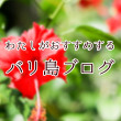 人気のバリ島ブログ