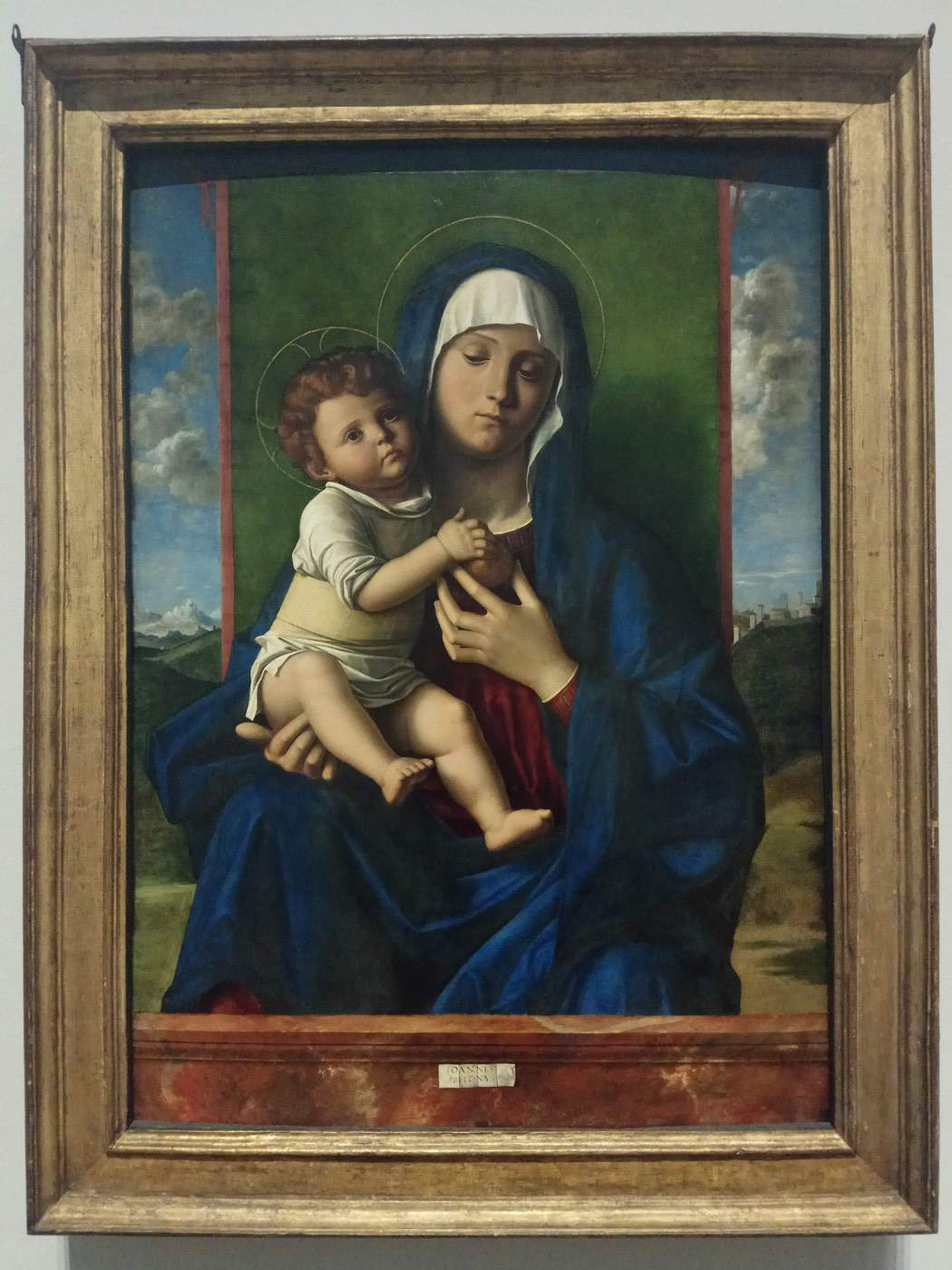 Workshop of Giovanni Bellini|The Virgin and Child