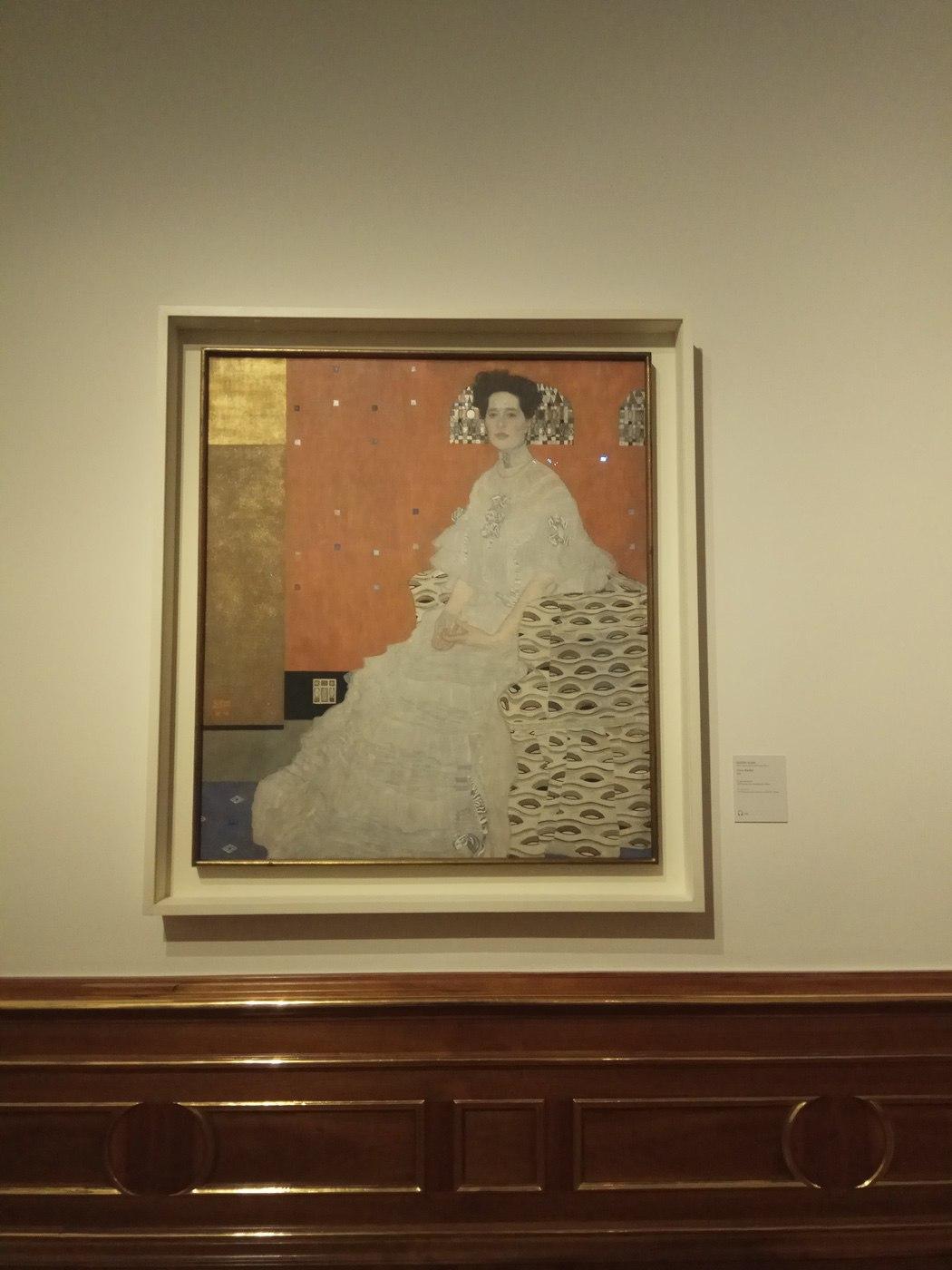 Gustav Klimt|Portrait of Fritza Riedler
