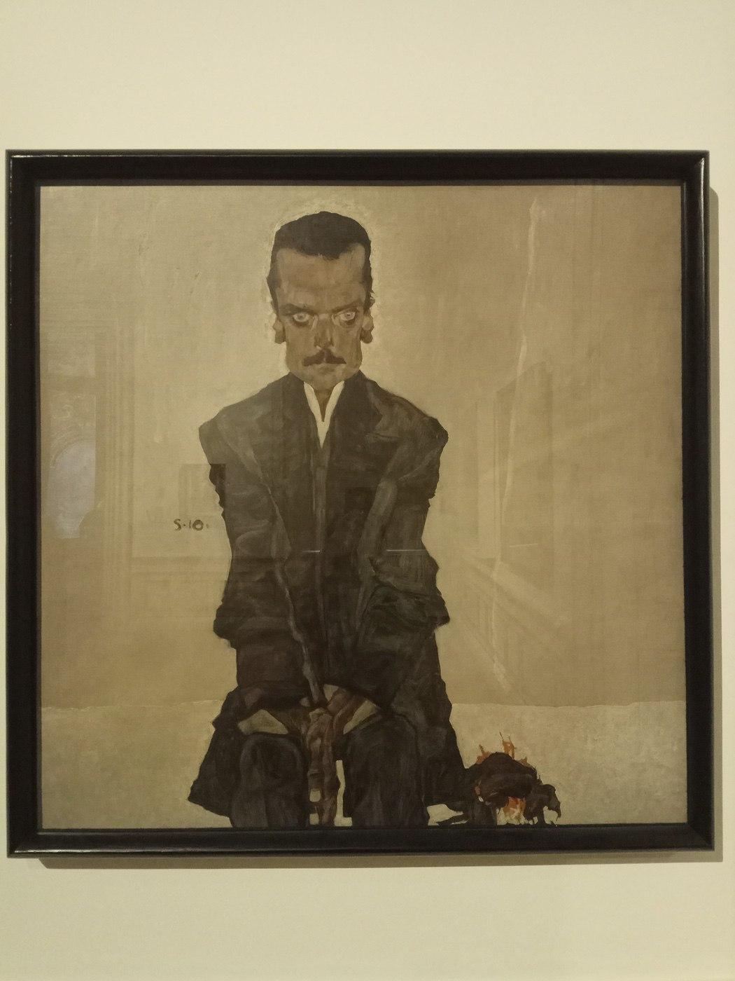 Egon Schiele|Eduard Kosmack
