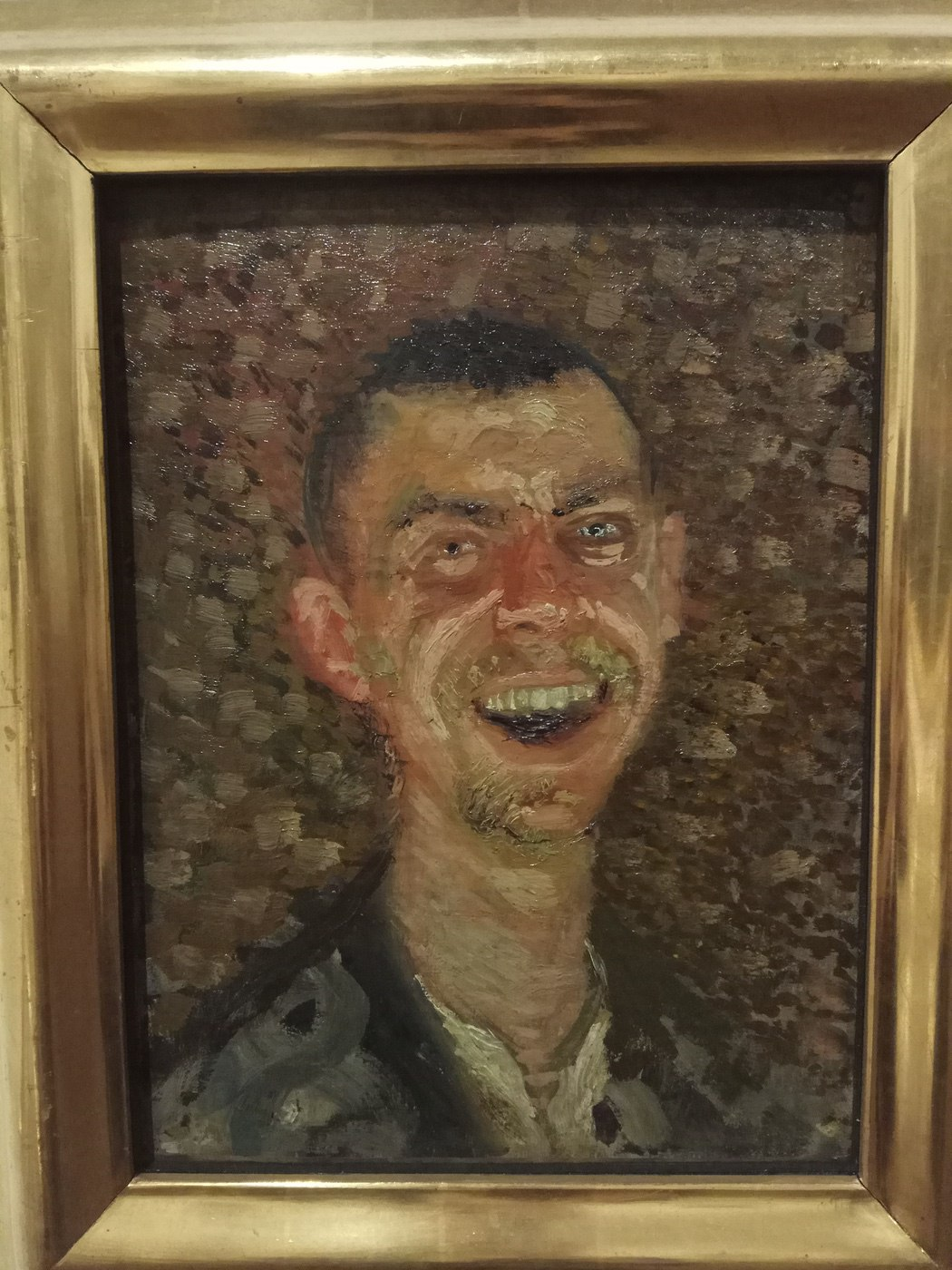 Richard Gerstl|Self-Portrait, Laughing