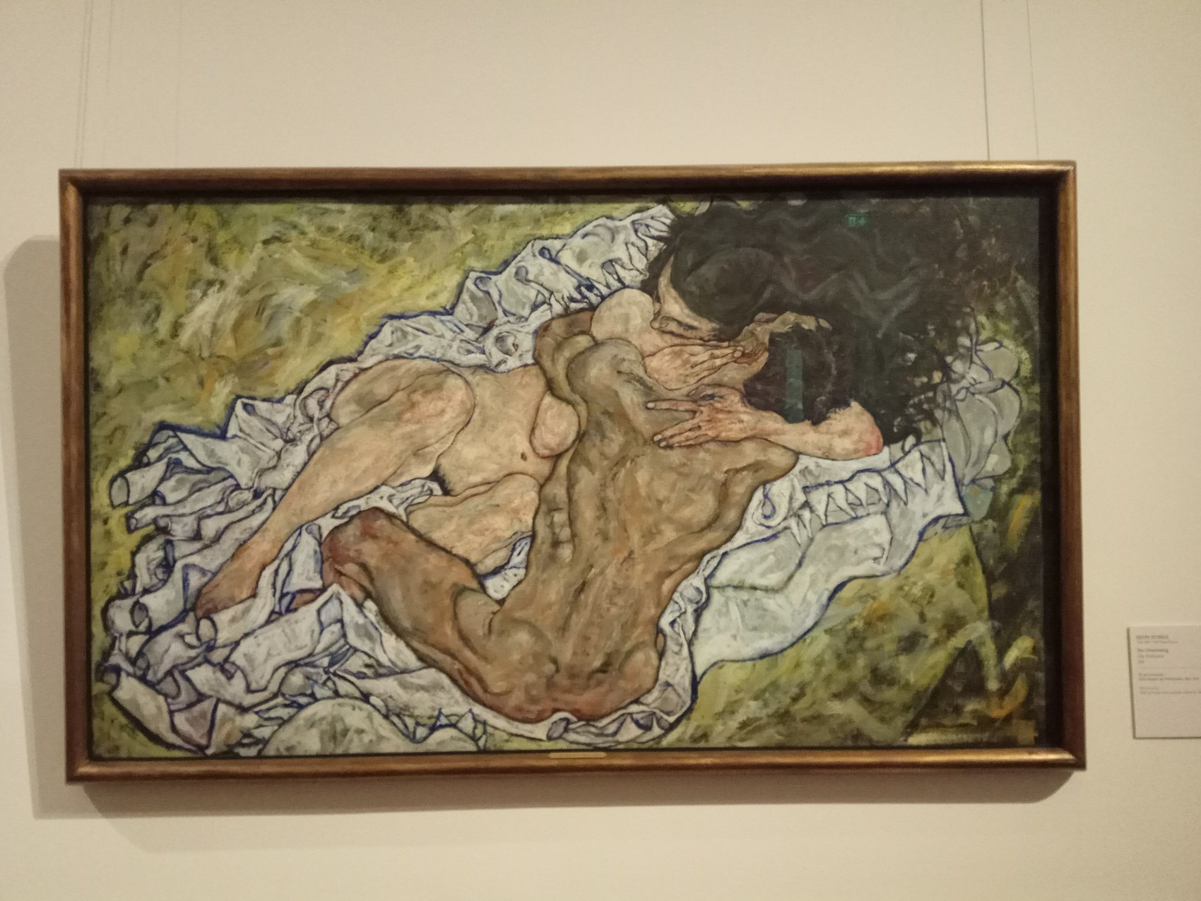 Egon Schiele|The Embrace