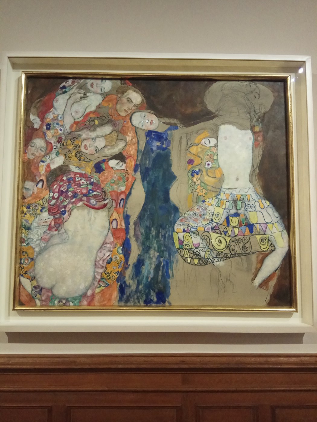 Gustav Klimt|The Bride(Unfinished)
