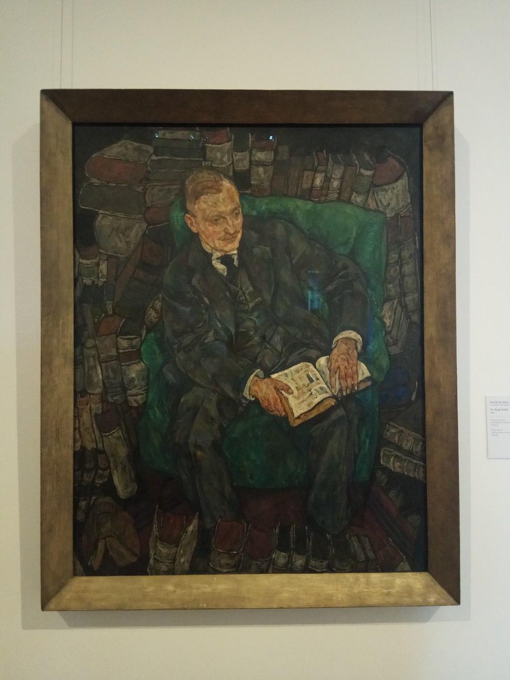Egon Schiele|Dr.Hugo Koller