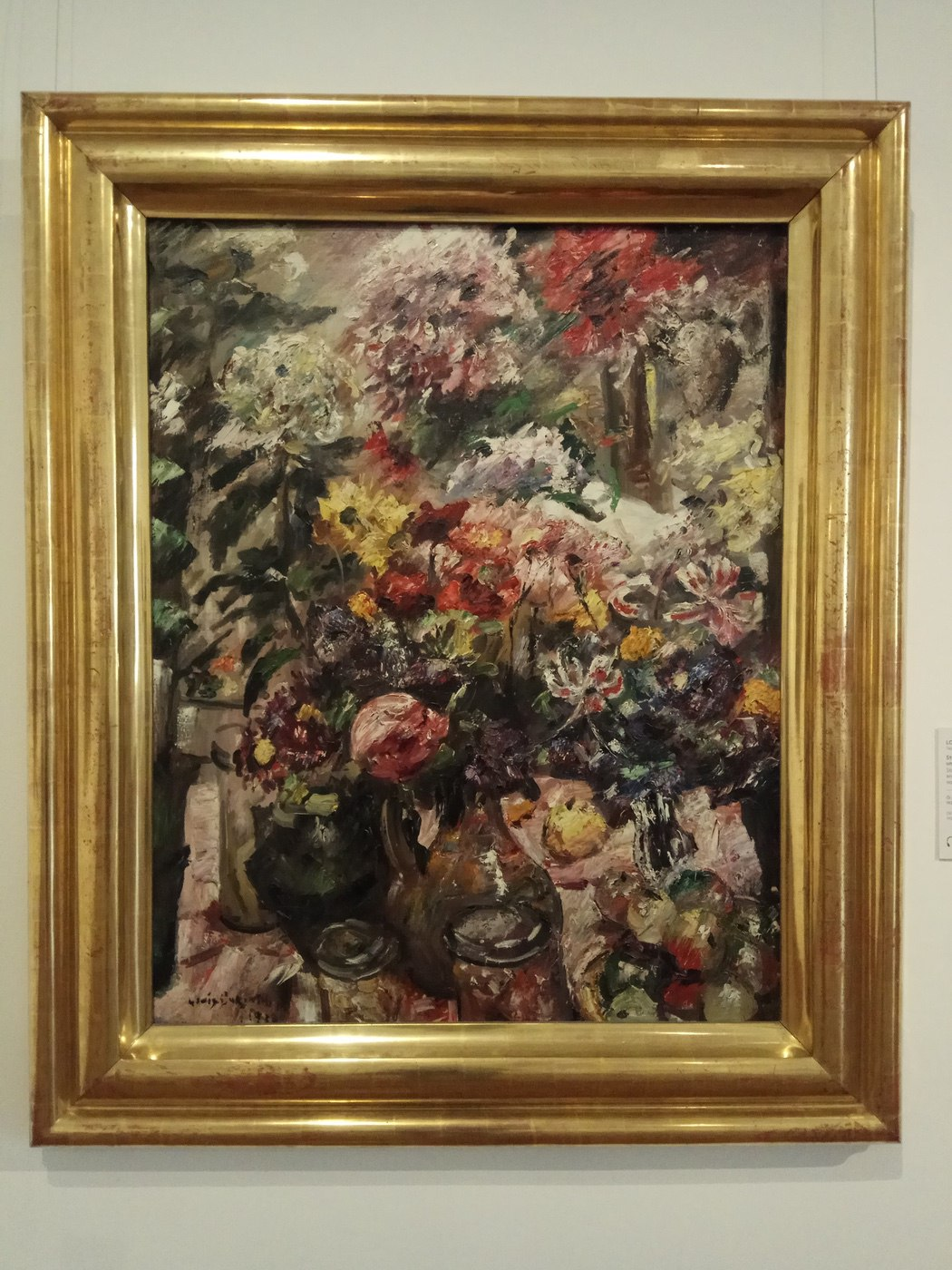 Lovis Corinth|Still Like with Chrysanthemums