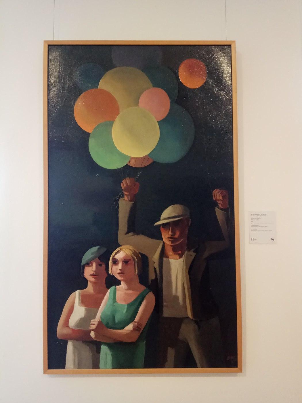 Otto Rudolf Schatz|Balloon Seller