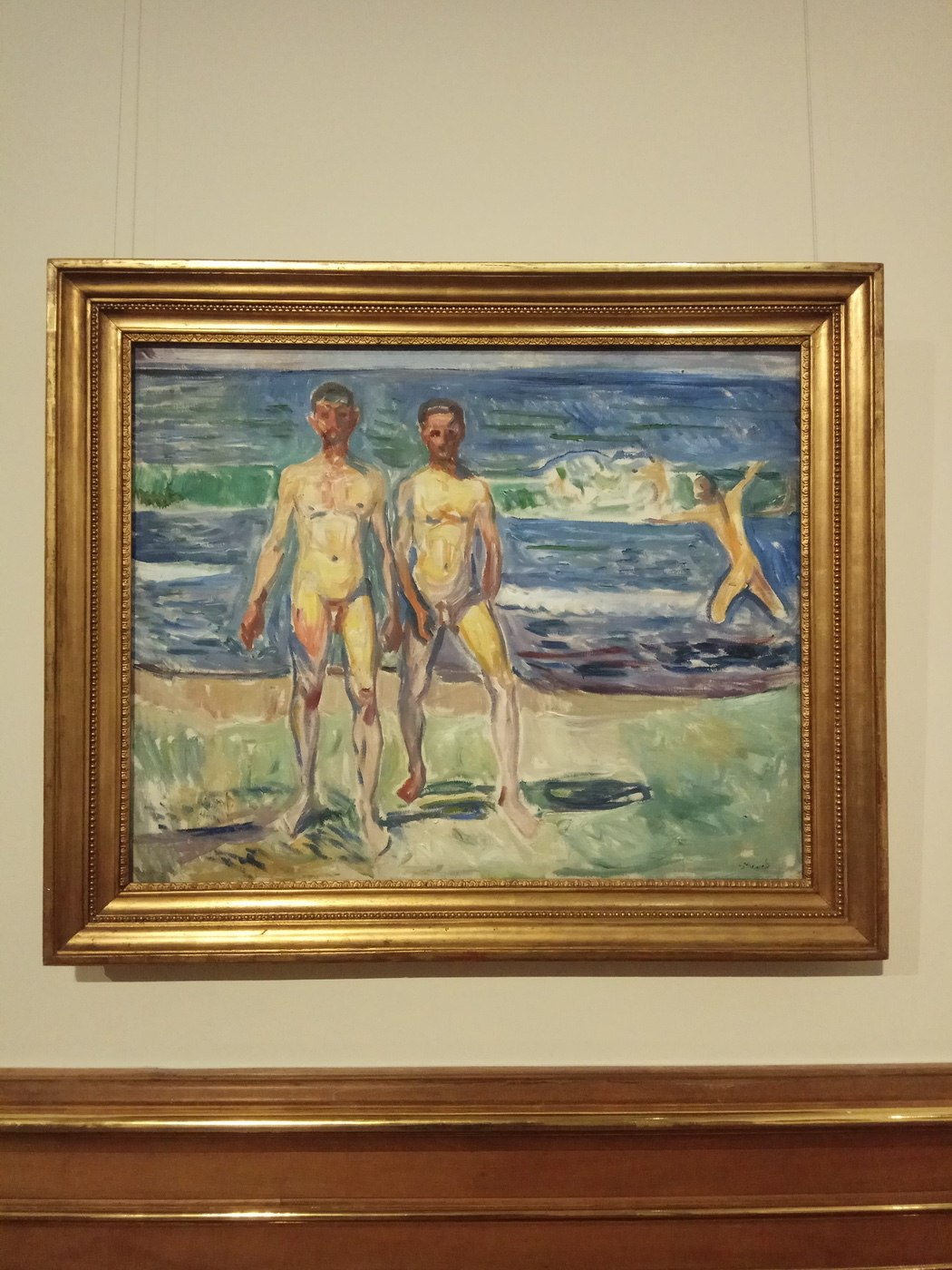 Edvard Munch|Men on the Seashore