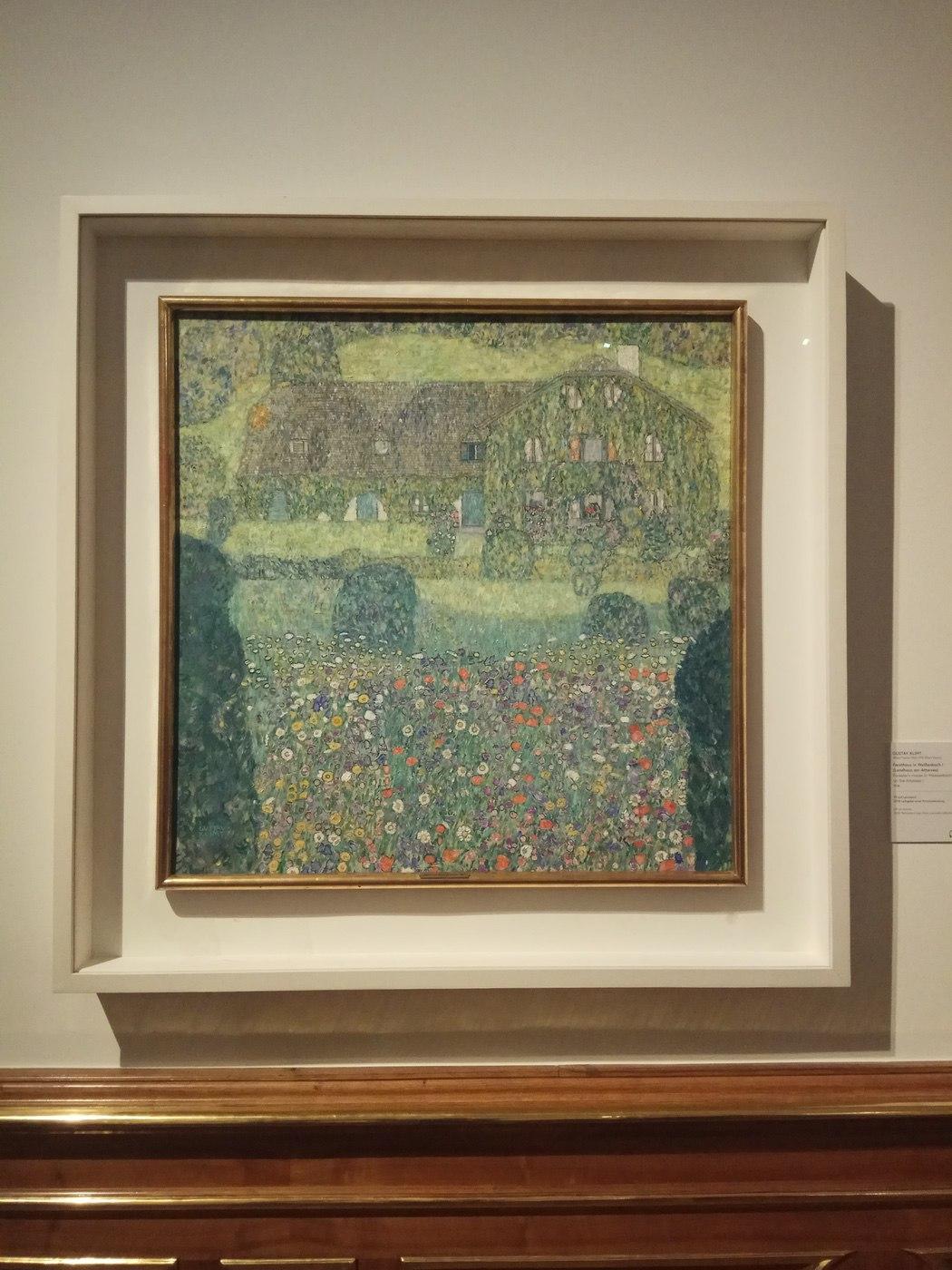 Gustav Klimt|Forester's House in Weissenbach