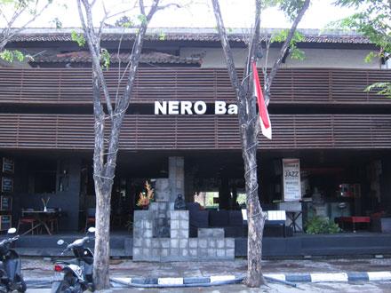 バリ島グルメ: レギャン通りのちょいお洒落な地中海レストラン♪ ネロ・バリ(NERO Bali)