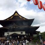 ベタな観光スポット、善光寺に行ってきました