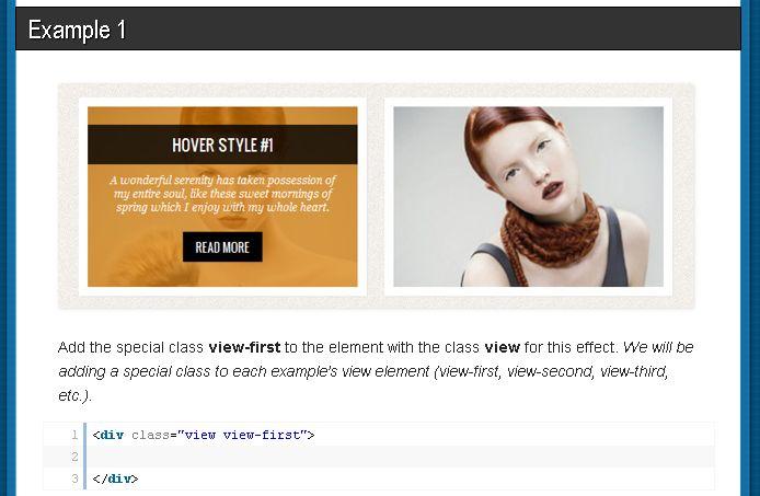 WEBメモ: CSS3 で作るクールなhoverエフェクト 10