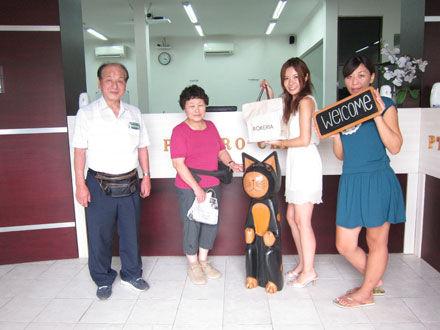 2012年、最初に会ったお客さまは岡谷から!!!