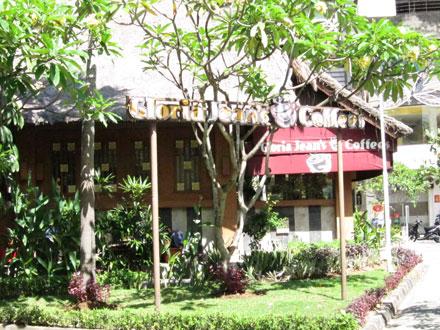バリ島グルメ: グローリア・ジーンズ・コーヒー