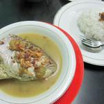 魚の頭スープワルン