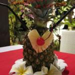 バリ島グルメ: ロコカフェのハネムーンカクテルが可愛い❤
