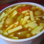 バリ島グルメ: ワルンマリーナのぺぺスイカンが激辛いけど美味しい↑