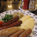 バリ島グルメ: ペピトカフェのソーセージ