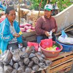 デンパサールのバドゥン市場