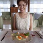 バリ島グルメ: ティルタでフレンチ戴いてきました~(*^_^*嬉)1