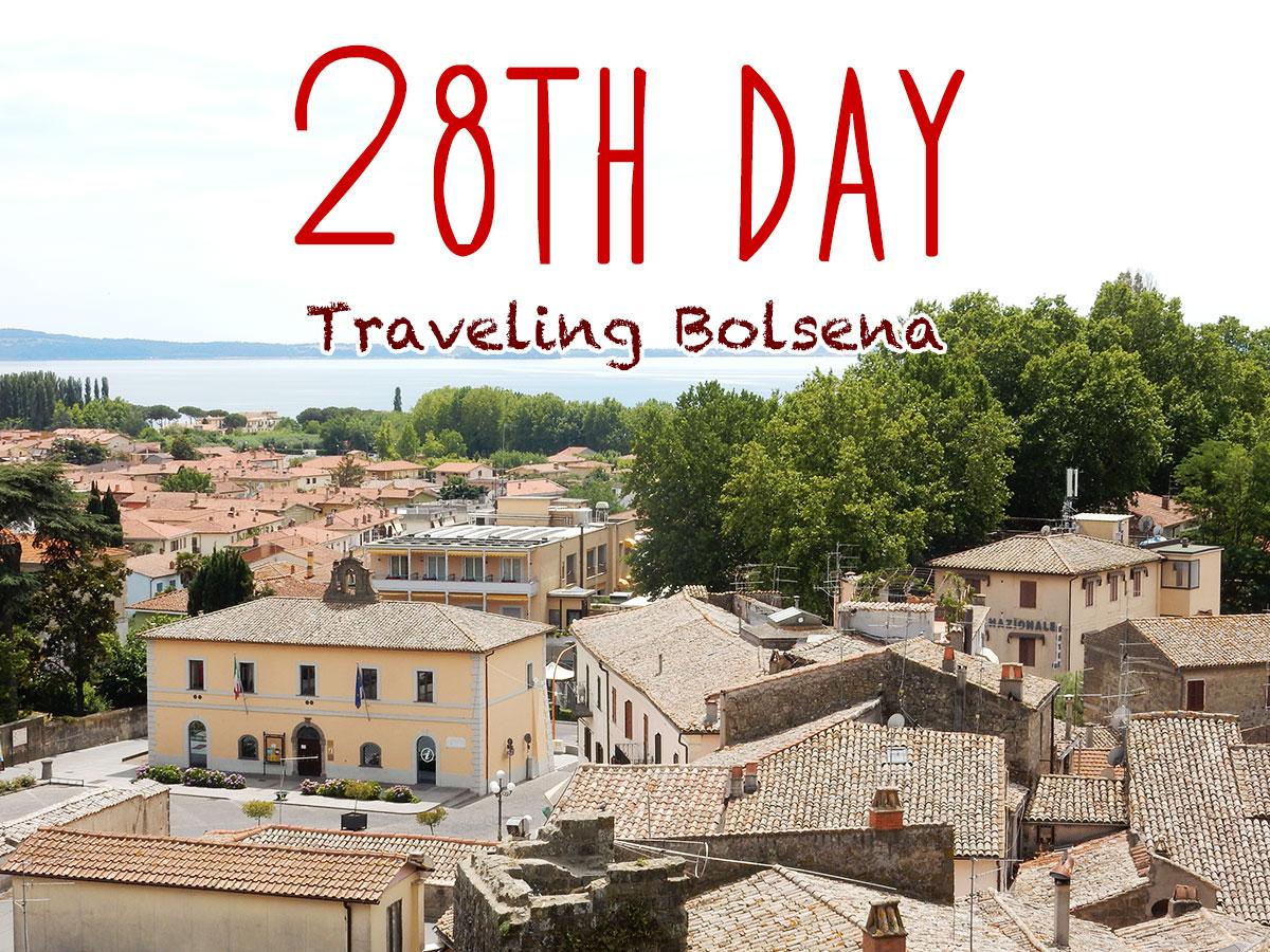 イタリア28日目・サンパトリツィオの井戸とボルセーラ