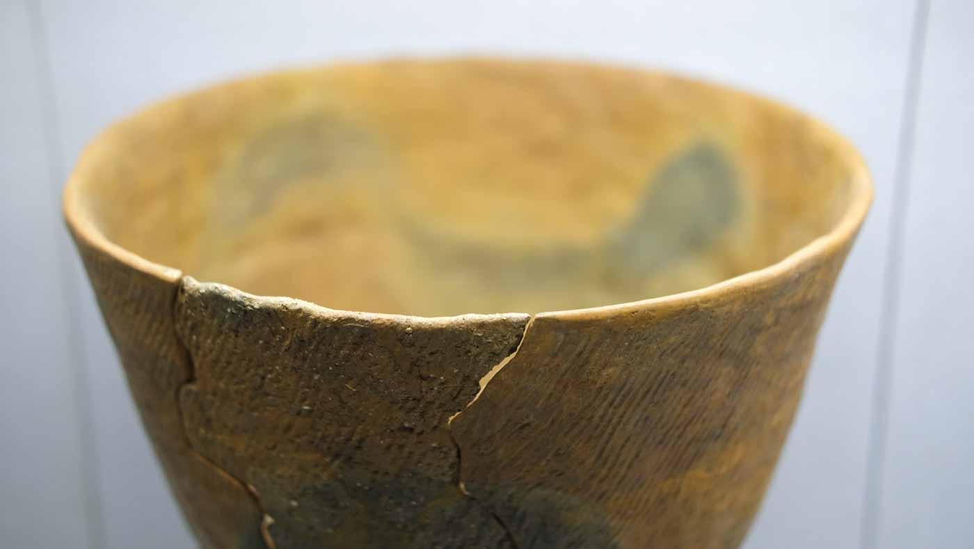 表裏縄文土器