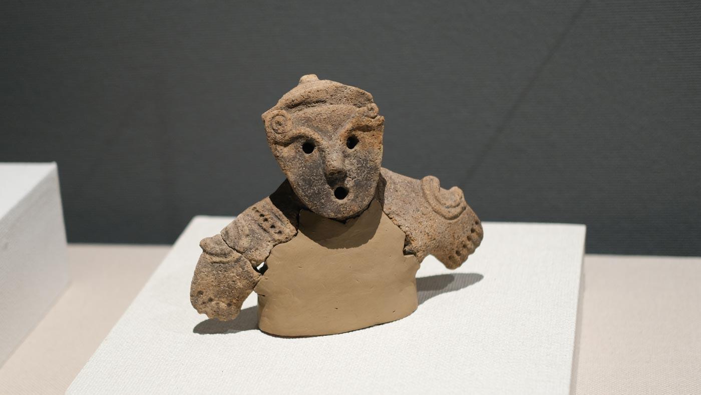 安曇野市で発掘された土偶