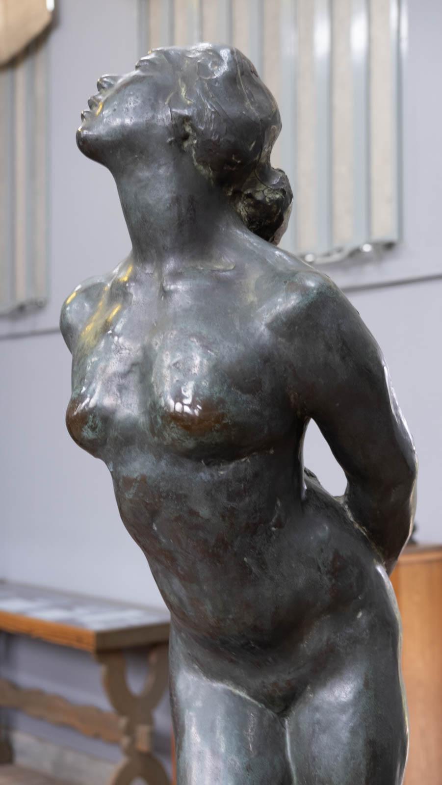 《女》1910年 横顔