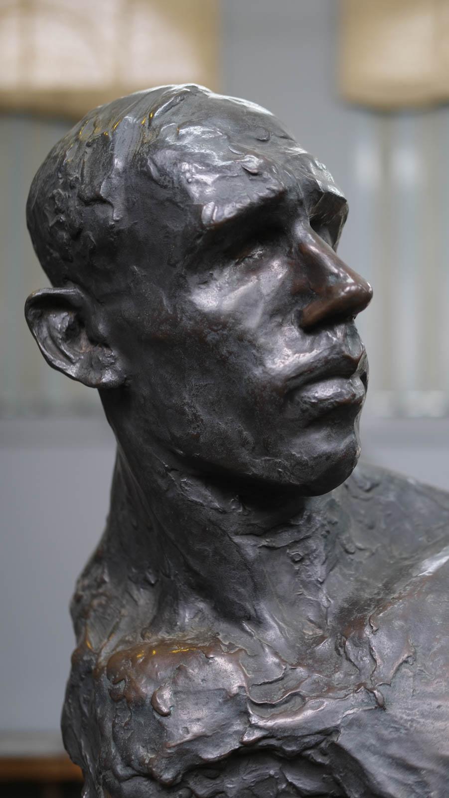 《坑夫》1907年 表情