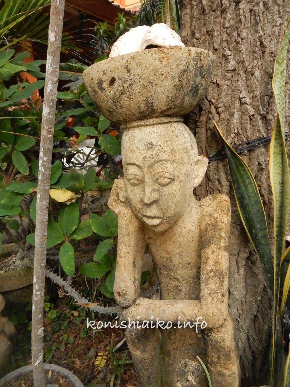 バリ島の石像