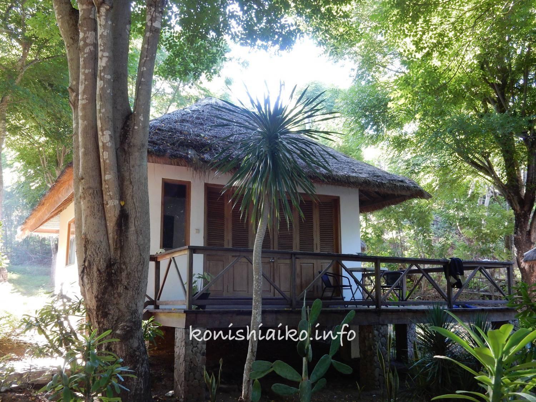ラブアンバジョで泊まったバンガロー