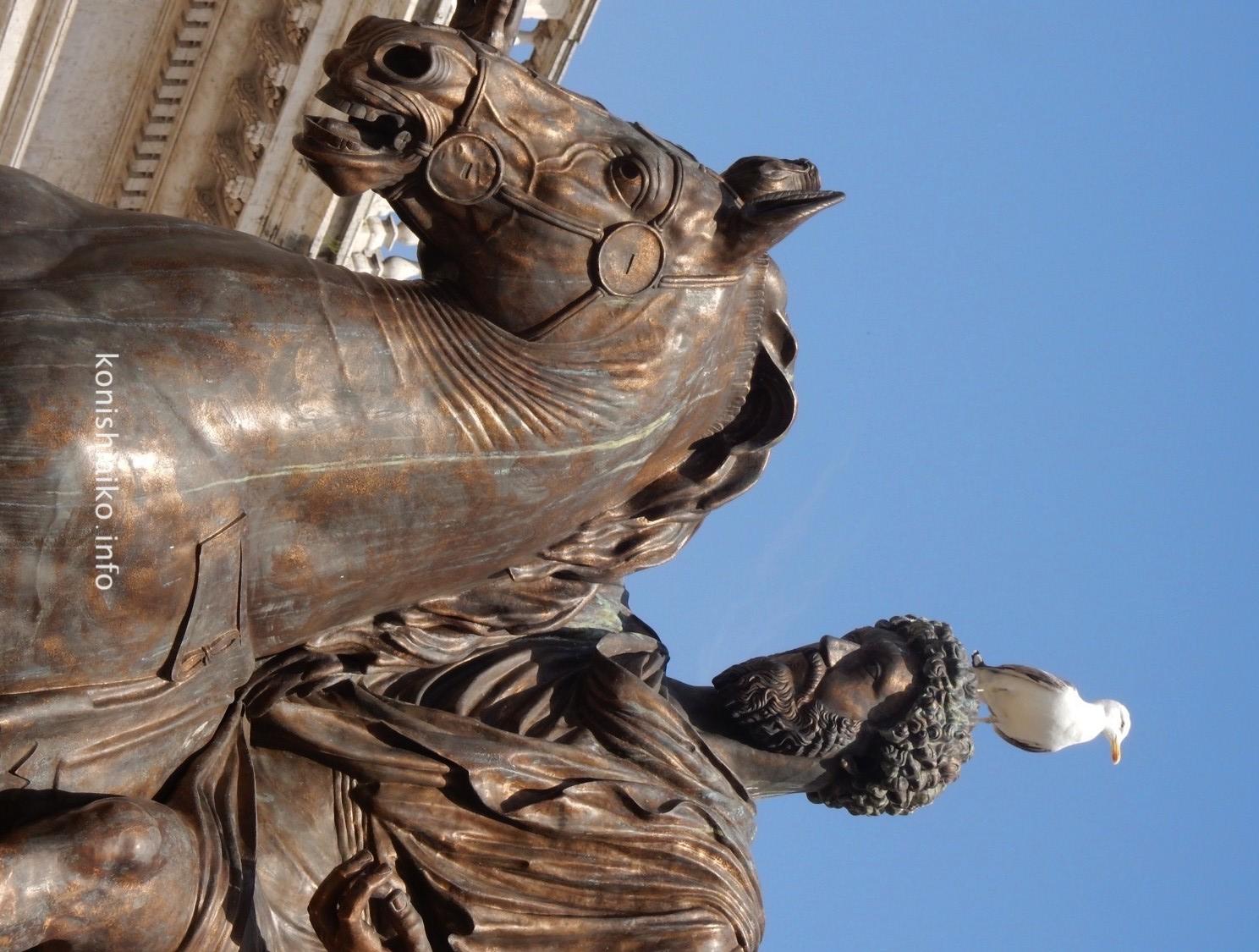 マルクス・アウレリウスの騎馬像
