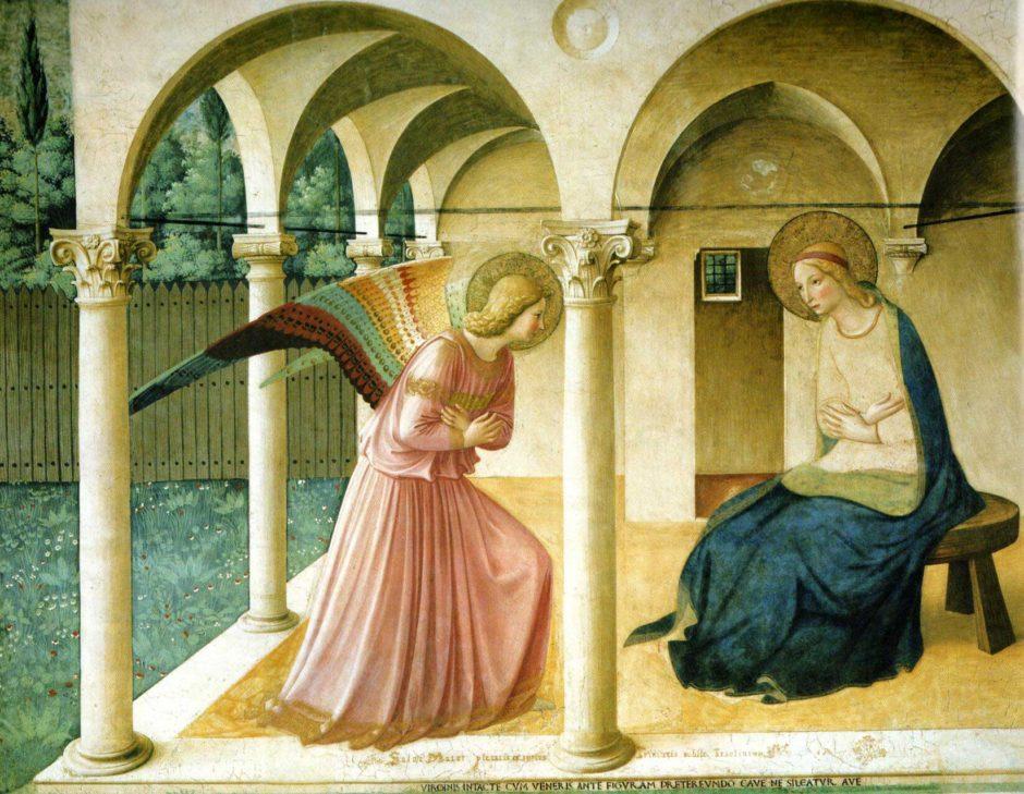 【西洋名画】「受胎告知」フラ・アンジェリコを解説