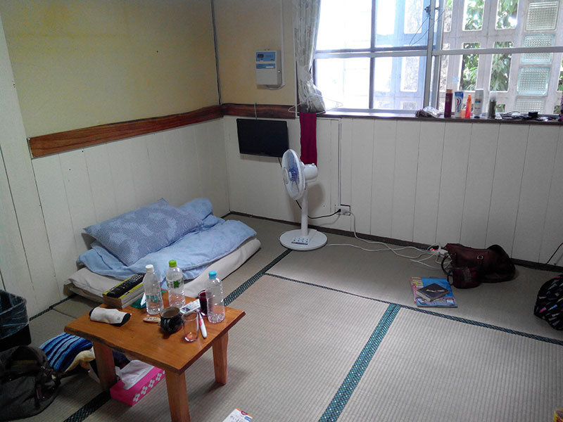 【石垣島】港から徒歩5分のおすすめ宿、ペンション やいま日和