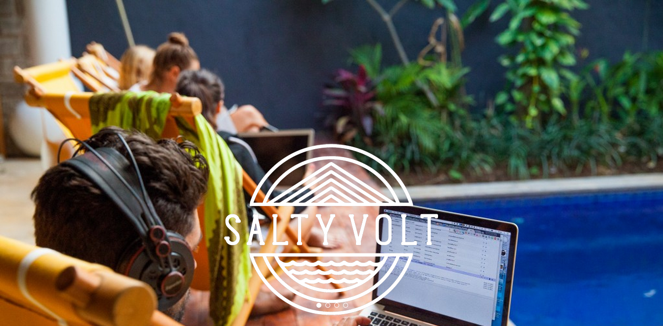 Salty Volt coworking space. Echo Beach  Canggu  BaliSalty Volt   Coworking Space  Echo Beach