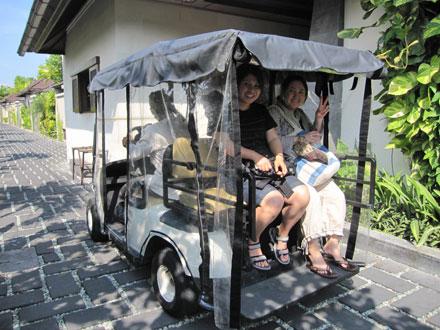 バリ島ホテル: ディシニヴィラ に遊びにいってきました