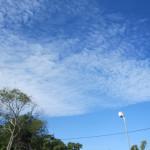今日のバリの空