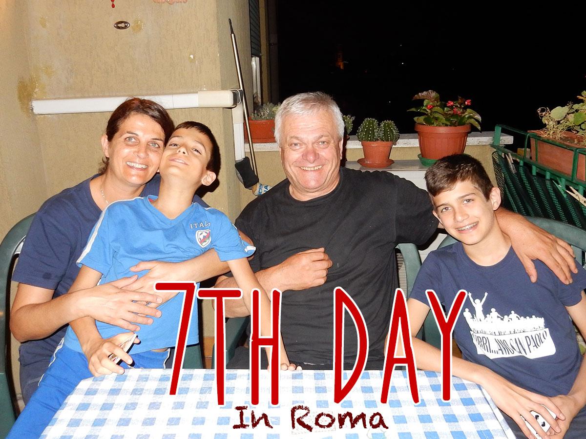 イタリア7日目・観光お休み、家で読書と仕事の日