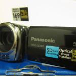 新しいおもちゃ、ビデオ(PanasonicのHDC-SD40)