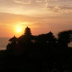 タナロット寺院・夕日バージョン