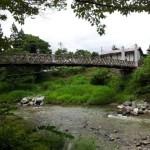 白馬・大出の吊り橋+大町・カツ丼