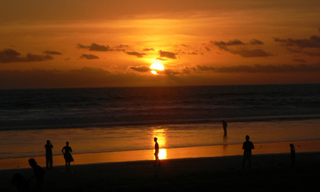 Sminyak Sunset