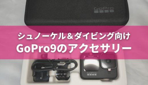 GoPro hero9の購入元とおすすめアクセサリー4つ(シュノーケル&ダイビング向け)