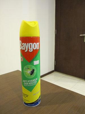 バリ島殺虫剤バイゴン