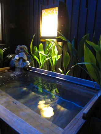 ドーミーインの檜風呂