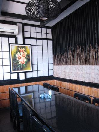 クタの和食レストラン